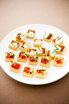 #appetizer  Photography: M&J Photography - mandjphotos.com  Read More: http://www.stylemepretty.com/2012/09/03/fiddler-lake-resort-wedding-from-mj-photography/