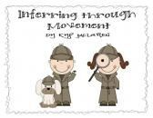 Inferring Movement Cards product from Teaching-One-Moment on TeachersNotebook.com