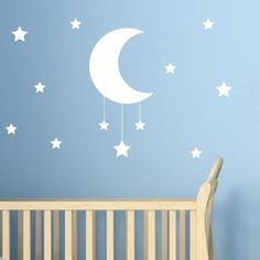 Star and Moon Wall Sticker