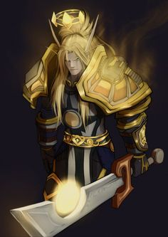 Blood Elf Paladin / World Of Warcraft