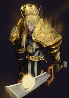 Blood Elf Paladin / World Of Warcraft