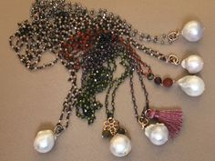 Collane in argento con perla acqua dolce Parma