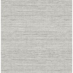 Scott Living Ft Graphite Vinyl Textured Abstract Self-Adhesive Peel And Stick Wallpaper Grey Wallpaper Accent Wall, Grey Textured Wallpaper, Grey Grasscloth Wallpaper, Seagrass Wallpaper, Foyer Wallpaper, Neutral Wallpaper, Powder Room Wallpaper, Bathroom Wallpaper, Textured Walls
