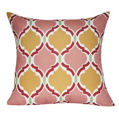 Loom and Mill Damask Decorative II Polyester Throw Pillow