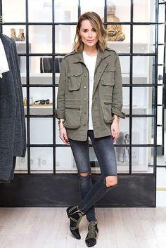How to wear parka jacket