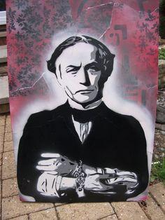 Houdini Charity painting by MatParrott