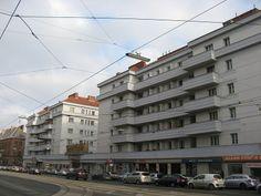 Zürcher-Hof, 10th district. Vienna, Street View, Social Housing