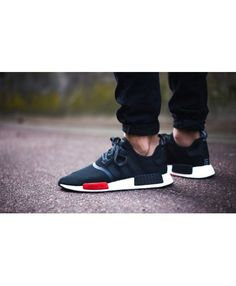 f080e7a67 Cheap Adidas NMD R1 Footlocker Exclusive Black Red White Cheap Adidas Nmd