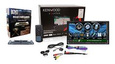 Kenwood DNX9990HD and Boyo VTL400SR (Chrome) (Factory Refurbished)