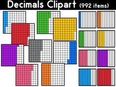 Decimals Clipart items) by PrwtoKoudouni Clip Art, Maths, Pictures