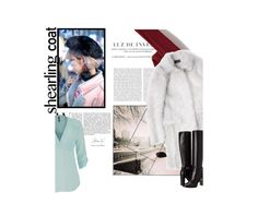 """""""Warmin Up"""" by alwaysroyal on Polyvore featuring maurices, Icebreaker, Salvatore Ferragamo, Burberry, cute, contestentry, winterstyle and shearlingcoat"""