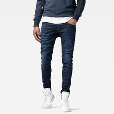 The Revend jean is a slim, contemporary take on 5-pocket denim.