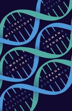The Mysterious World of Human Genome book cover design