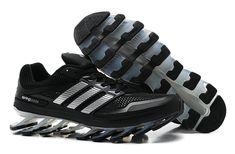 best cheap 5c211 643ee Adidas Springblade Running Shoes Black Silver Zapatillas Adidas, Zapatos  Deportivos, Tenis, Deportes,