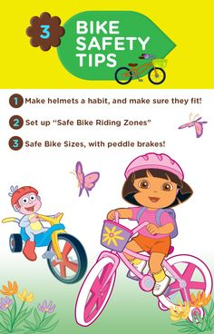 Have a blast on your bike this Summer...but stay safe! #Nickjr