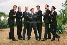 Photo de groupe avec les hommes
