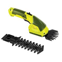 Factory Refurbished Sun Joe HJ604C 72 V Cordless 2In1 Grass Shear  Hedge Trimmer Green *** To view further for this item, visit the image link.