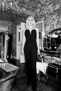 Lady Gaga looking