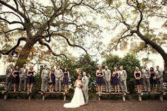 Photo by Anwen Elizabeth Photography | Savannah Wedding Photography | Bridal Party www.facebook.com/anwenelizabethphotography