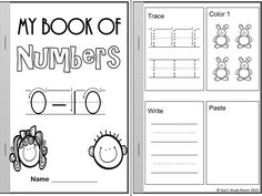 FREE: My Book of Numbers: 0-10