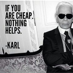 If you're cheap. Nothing helps.  -Karl  It is not about spending more of what you have, it's about investing on what you should and doing it well.