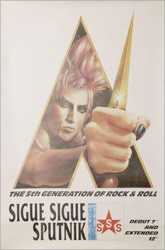 Sigue Sigue Sputnik The 5th Generation of Rock & Roll
