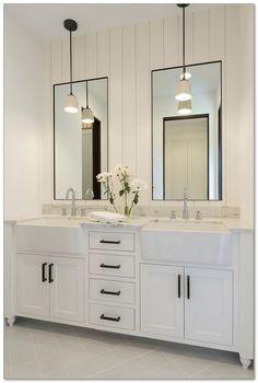 60 Beautiful Urban Farmhouse Master Bathroom Remodel 21