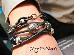 Media Tweets By Trollbeads Calif Trollbeadscalif Pandora Leather Bracelet