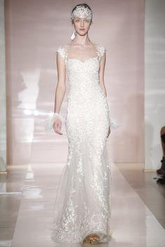 #ReemAcra coleção #noivas #outono 2014 NY Bridal Fashion Week #casarcomgosto