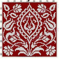 Cross Stitch Pillow, Cross Stitch Tree, Cross Stitch Borders, Cross Stitch Flowers, Cross Stitch Designs, Cross Stitching, Cross Stitch Embroidery, Cross Stitch Patterns, Filet Crochet