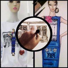 #fashion #illustration #tshirt