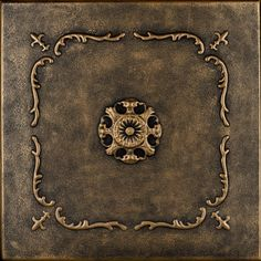 "Decorative Ceiling Tiles, Inc. Store - Bourbon Street - Styrofoam Ceiling Tile - 20""x20"" -"