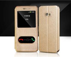 Brand New Luxury Flip Silk Leather Phone Case For Samsung Galaxy S7 S 7 edge Fashion Cover Free Shipping Digital Guru Shop  Check it out here---> http://digitalgurushop.com/products/brand-new-luxury-flip-silk-leather-phone-case-for-samsung-galaxy-s7-s-7-edge-fashion-cover-free-shipping/