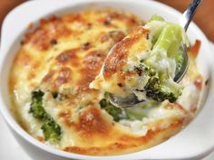 Recette Gratin de brocolis, notre recette Gratin de brocolis - aufeminin.com