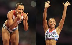 Jessica Ennis Heptathlon action from the London 2012 Olympic Games