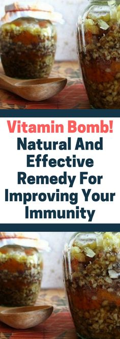 Vitamin Bomb! Natural And Effective Remedy For Improving Your Immunity.. Need to know.!!!!