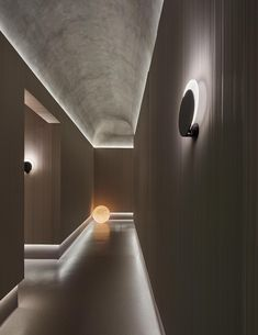 Indirect Lighting Is An Excellent Way To Create A Calm Atmosphere Corridor Lighting, Cove Lighting, Indirect Lighting, Strip Lighting, Lighting Design, Architecture Building Design, Facade Design, Architecture Details, Interior Architecture
