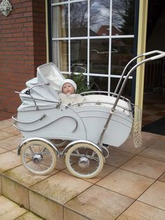 Beautiful old pram...
