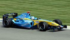 2004 GP USA (Inianapolis) Renault R24 (Jarno Trulli)