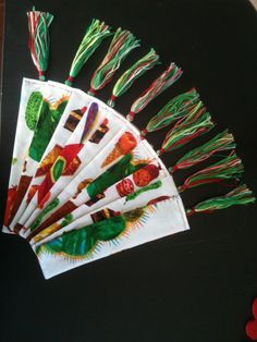 Bookmark Very hungry caterpillar by PercyandPaige on Etsy, $3.00