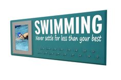 Swimming Just keep swimming swimmer competitive swimming swimming medal holder swimming pool k Running Medals, Running Gifts, Keep Swimming, Swimming Pools, Swim Ribbons, Swim Team Gifts, Ribbon Display, Gifts For Swimmers, Ribbon Holders