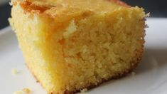 Serve this rich, sweet, cakelike cornbread hot from the oven. Increased corn flour to 2 cups and used 1 c flour. Added 1 tsp baking soda and 1 c whole milk and 1 c buttermilk. Decreased sugar to 1 c. Added 1 can corn drained. Sweet Cornbread Cake Recipe, Buttermilk Cornbread, Golden Corral Cornbread Recipe, Cornbread Recipes, Baking Recipes, Cake Recipes, Dessert Recipes, Desserts, Corn Cakes