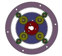 Mechanical Engineering Design, Planetary Gear, Mechanical Gears, Gear Art, Homemade Tools, Wooden Lamp, 3d Cards, Diy Storage, 3d Printer