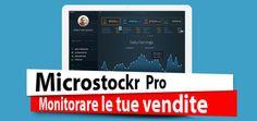 Microstockr Pro - Monitorare le tue vendite  #microstock #microstockrpro #sales