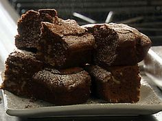 Amaretto Chocolate Brownies with Walnuts Recipe : Tyler Florence : Recipes : Food Network Best Dessert Recipes, Fun Desserts, Sweet Recipes, Chocolate Shop, Chocolate Brownies, Tyler Florence Recipes, Walnut Recipes, Eat Dessert First, Kakao