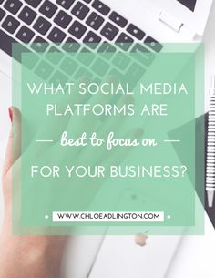 There's a common social media myth that small businesses need to be present on all social media platforms, well the main ones at least. But I'm disagree. I think it's far better (and more effective) for a small business, with limited time and energy, to focus on being good at one platform than sprea