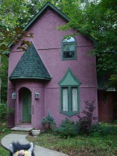 violet house by Bruceski