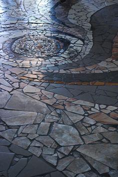 mosaic floor pattern