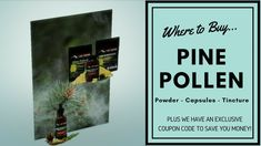 THIS is where to buy pine pollen powder (or tincture). Lost Empire Herbs is one of my all-time favorite places to buy herbs online. If you've seen some of my other vids, you know I've been a customer for a long time now. I DO promote Lost Empire Herbs too (and quite enthusiastically)! :) I can't help it. I love the Christopher brothers who run Lost Empire Herbs. I hope you'll give them a look!