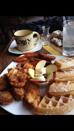 This picture is of my mum's breakfast when she went to New York and very time I see this I think of winter.